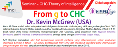 Seminar CHC Theory of Intelligence: From g to CHC