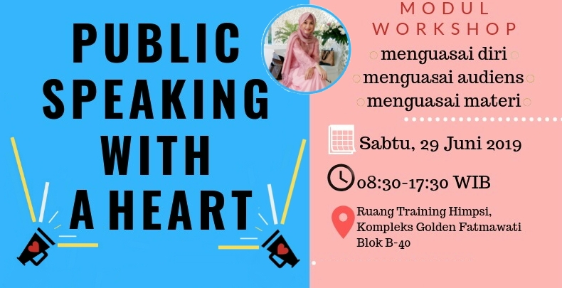 Publik Speaking with A Heart